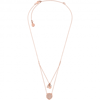 Brilliance Double Layered Necklace