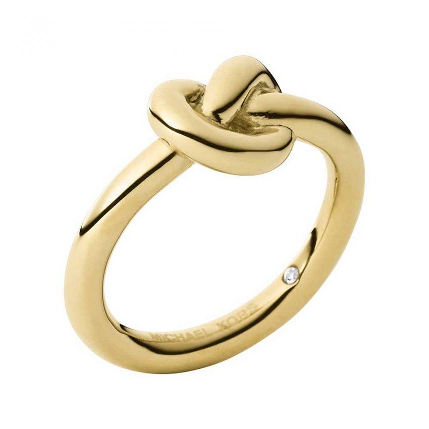 michael kors brilliance gold tone knot ring jewellery. Black Bedroom Furniture Sets. Home Design Ideas