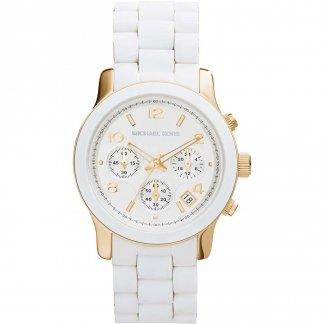 Ladies Dual Tone Runway Watch MK5145