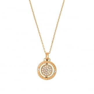 Gold Flip Glitz Reversible Necklace MKJ5656710
