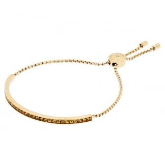 Gold Plated Stone Set Slider Bracelet MKJ5796710