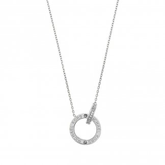 Interlocking Logo Necklace MKJ4679040
