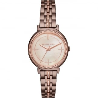 Ladies Cinthia Rose Gold Glitzy Style Bracelet Watch