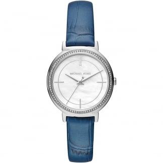 Ladies Denim Blue Strap Cinthia Watch MK2661