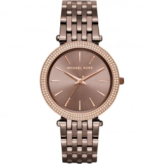 Ladies Glitzy Chocolate Darci Watch