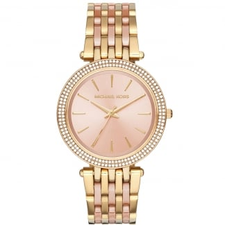 Ladies Gold and Rose Gold Darci Watch