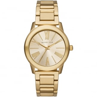 Ladies Hartman Gold Tone Bracelet Watch