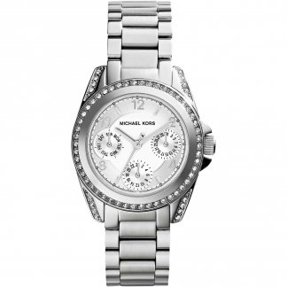 Ladies Mini Blair Silver Multifunction Watch MK5612