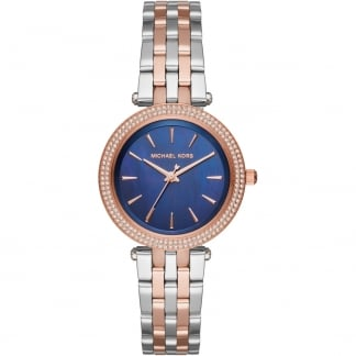 Ladies Mini Darci Blue Mother of Pearl Dial Watch