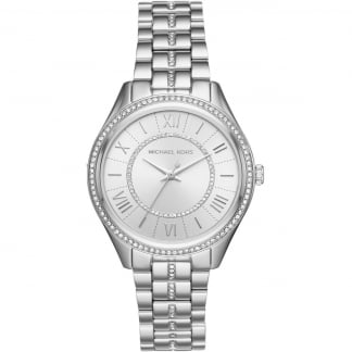 Ladies Stone Set Silver Lauryn Watch