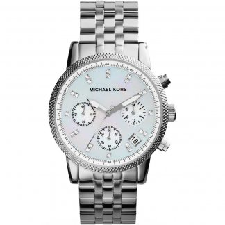 Ladies Stunning Stone Set Ritz Chronograph Watch