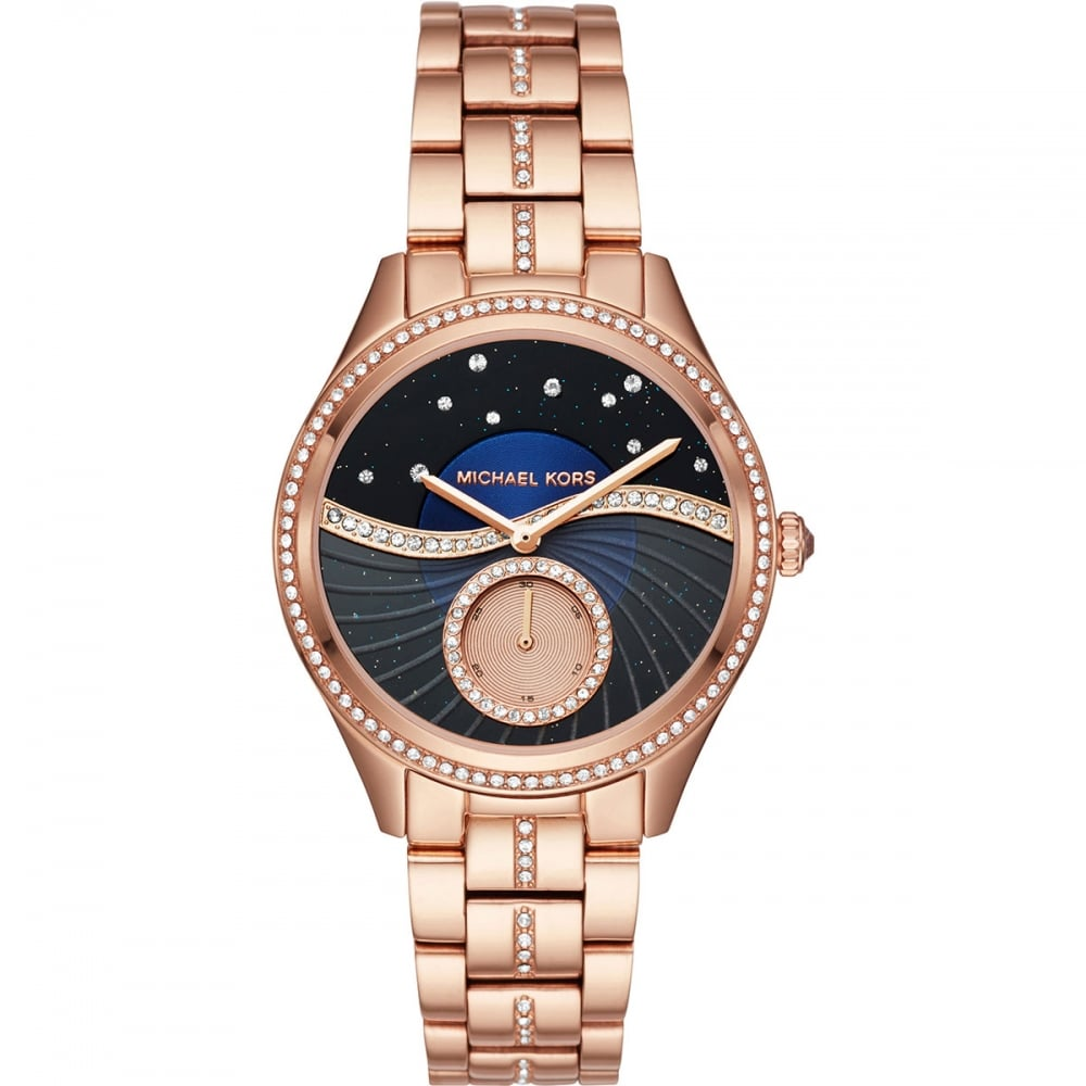 105527369d02 Michael Kors Ladies Three Hand Lauryn Watch - Watches from Francis ...
