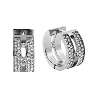 Crystal Set Maritime Huggie Earrings MKJ4447040