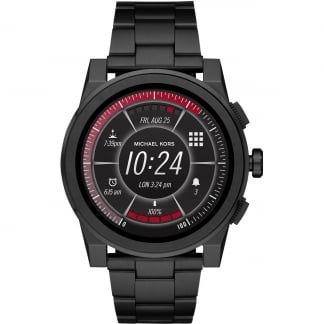 Men's Access Grayson Black IP Smartwatch
