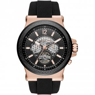 Men's Dylan Skeleton Dial Automatic Watch MK9019