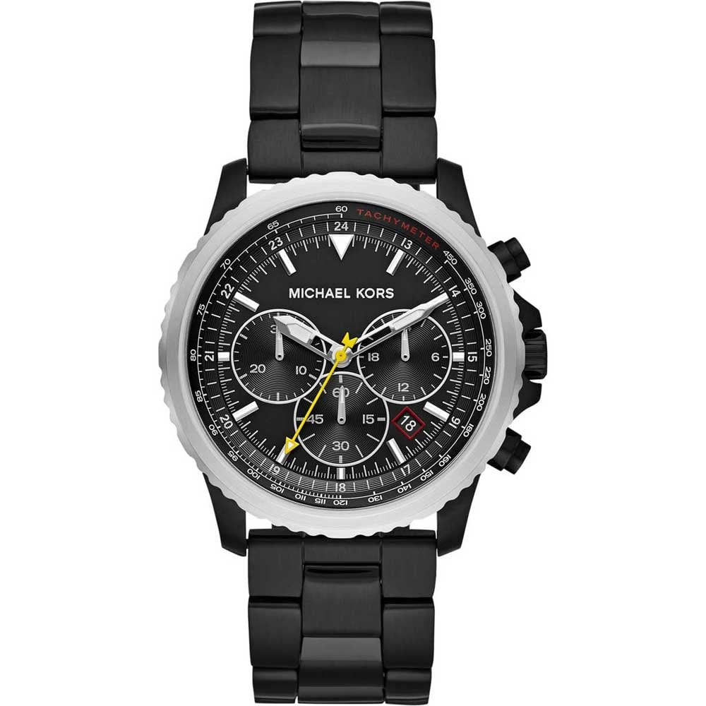 93f148e5d784 Michael Kors Men s Theroux Black PVD Chronograph Watch - Watches ...