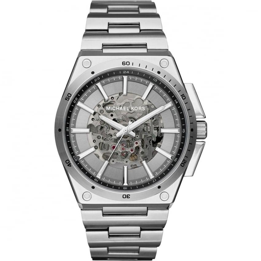 Michael Kors Men's Wilder Automatic Skeleton Dial Watch MK9021