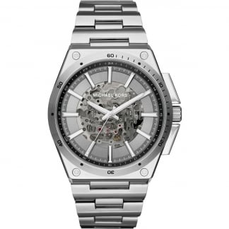 Men's Wilder Automatic Skeleton Dial Watch MK9021