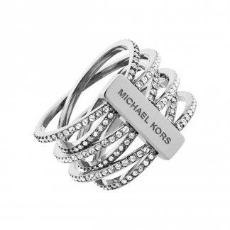 Silver Multi Strand Brilliance Ring MKJ4423040