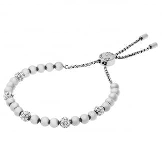 Silver Wisteria Pave Slider Bracelet MKJ5219040