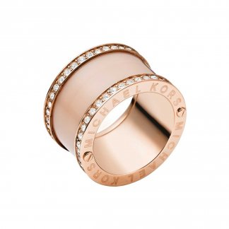 Rose Gold & Blush Acetate Ring