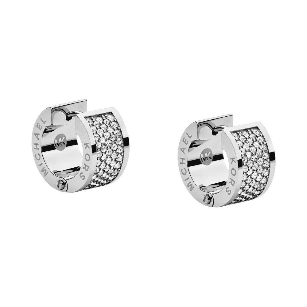3acb138a4385 Michael Kors Stainless Steel Chunky Huggie Hoop Earrings Product Code   MKJ2311040