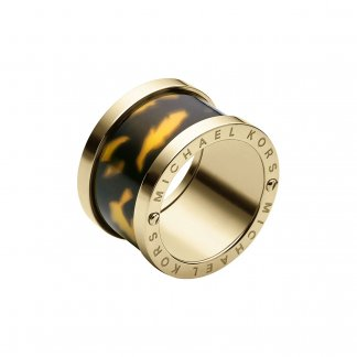 Tortoiseshell Barrel Ring