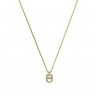 Yellow Gold Tone Maritime Pendant