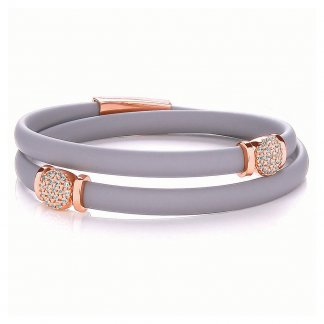 Micro Pave Double Wrap Riviera Bracelet BBT030
