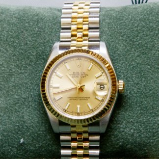 Mid-Sized Bi-metal DateJust 178273 (2006) 4018664