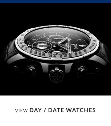 View Day / Date Display Watches