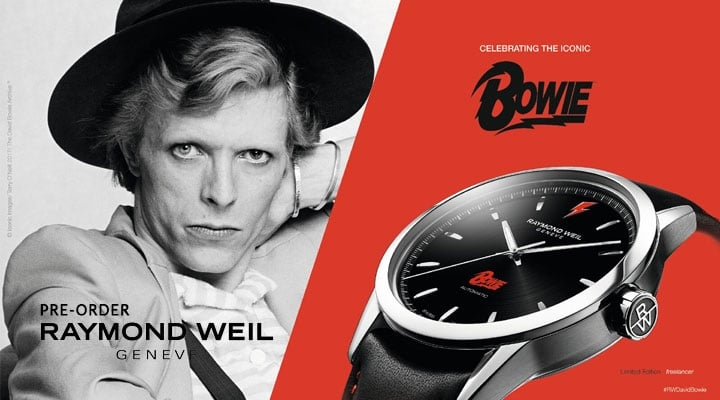 Raymond Weil Limited Edition Bowie Watch - View this Model