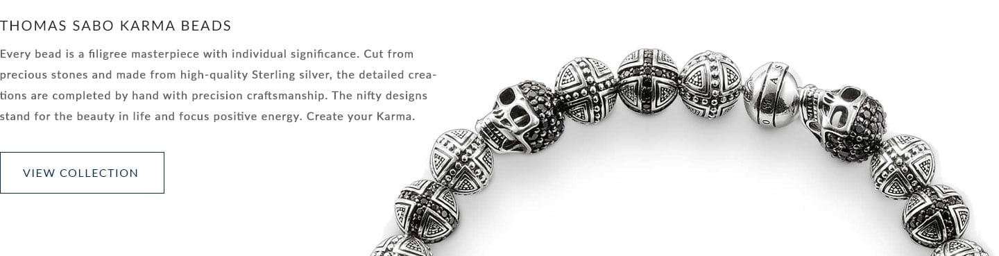 Thomas Sabo Karma Beads - View the Collection