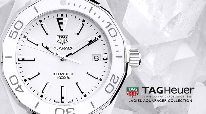 Ladies TAG Heuer Aquaracer Watches - View the Collection