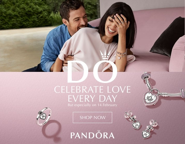 PANDORA Jewellery - View the Valentines Colletion