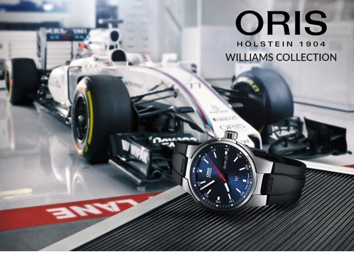 Oris Williams F1 Watches - View the Collection
