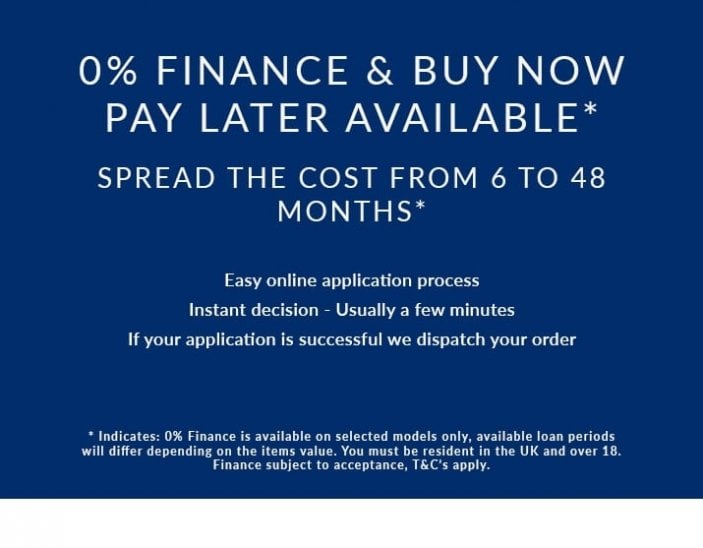 0% Finance on Selected Watches - Subject to Acceptance - T&C's Apply