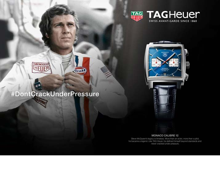 TAG Heuer Monaco Watches - View the Collection