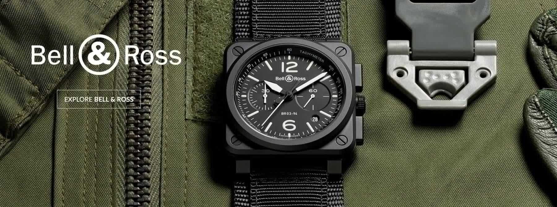 Bell & Ross Watches - Shop Now