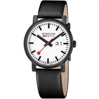 Men's Evo Big Date Back & White Watch
