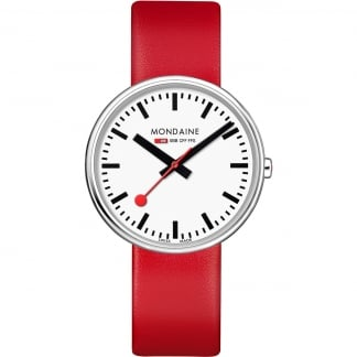 Unisex BackLight Mini Giant Red Watch
