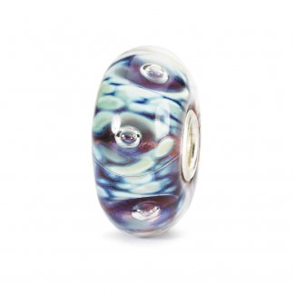 Murano Glass Moonlight Bubbles Bead 61483