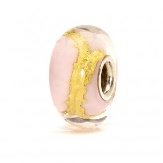 Murano Glass Pink Gold Bead