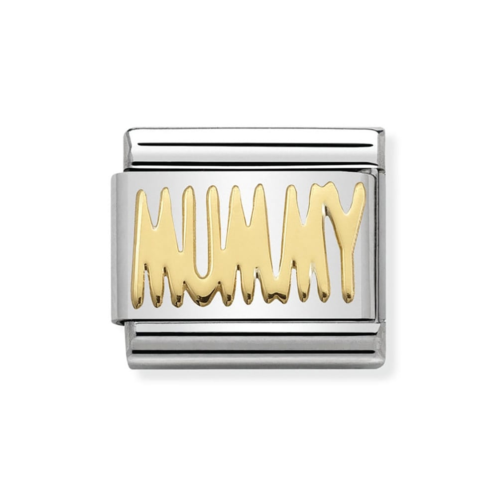 Nomination Composable Classic Gold  Mummy  Charm Product Code  030107 21 af4dabe6b0
