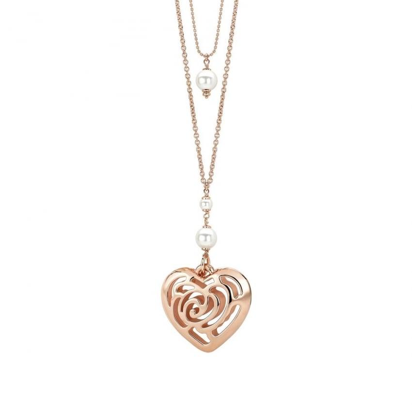 Nomination Large Double Layered Roseblush Necklace ...