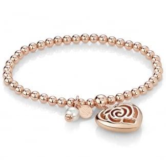 Rose Blush Expandable Heart Bracelet 131400/011