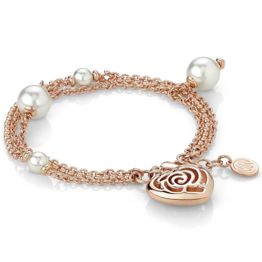 Nomination Rose Blush Triple Layered Bracelet 131401/011