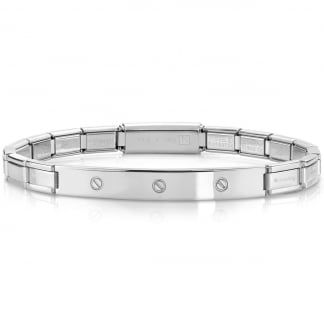 Steel Screw Trendsetter Bracelet 021114/001