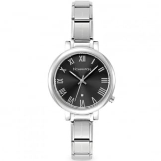 Time Paris Big Grey Ladies Watch
