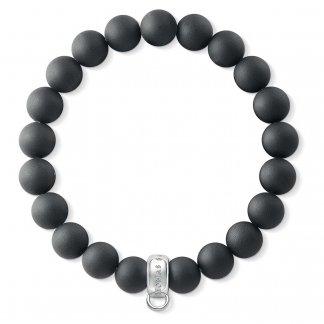 Obsidian Charm Bracelet X0208-023-11